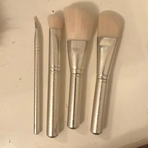 Never used MAC brushes and purse
